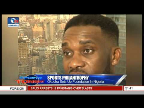 Sports Philantrophy: Okocha Sets Up Foundation In Nigeria