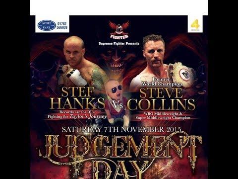 Stef Hanks vs Steve Collins Boxing Event - Judgement Day