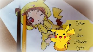 pikachu gir drawing lesson