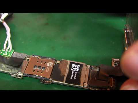 IPhone 5s потребление и не работает верхний динамик ( ремонт это просто )