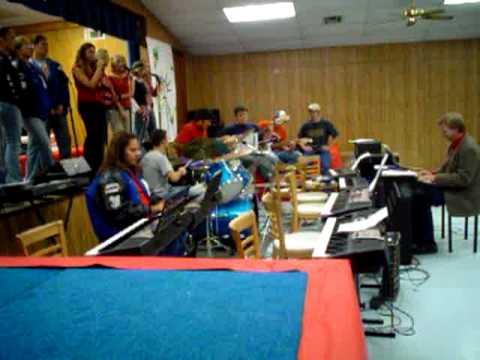 Milburn OK Music Band 2005.