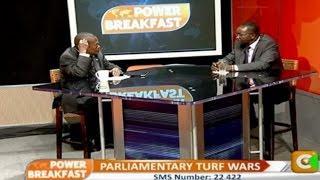 Power Breakfast: Parliamentary Turf Wars