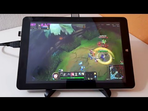 CHUWI V10HD Dual Boot Android & Windows Tablet Hands On ...