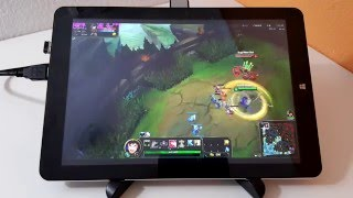 Chuwi Hi12 Gaming Review A8A, DH5, Counter Strike, LoL And Temps