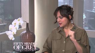 "Dakota Johnson Says Fifty Shades Of Grey Is A ""fairy Tale"""