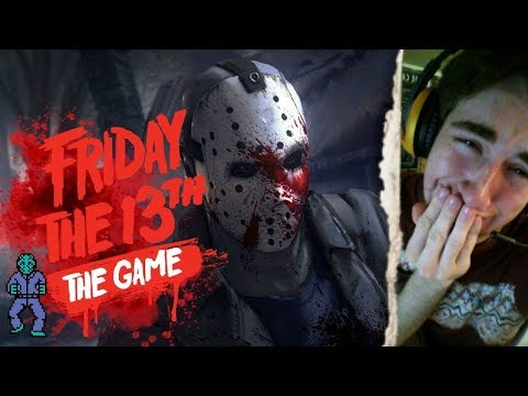 FRIDAY THE 13TH: THE GAME - (NEW MAPS + NEW UPDATE) - INTERACTIVE STREAMER