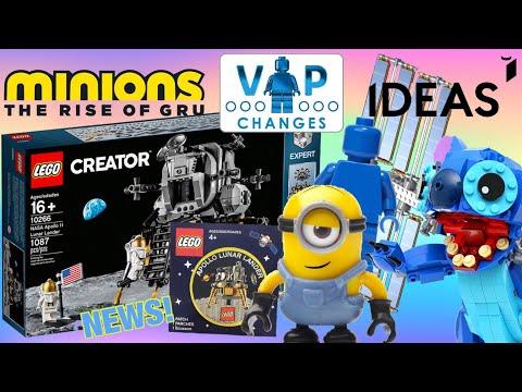 2020 LEGO IDEAS FAN VOTE SET WINNER, MINIONS & VIP CHANGES! | NEWS