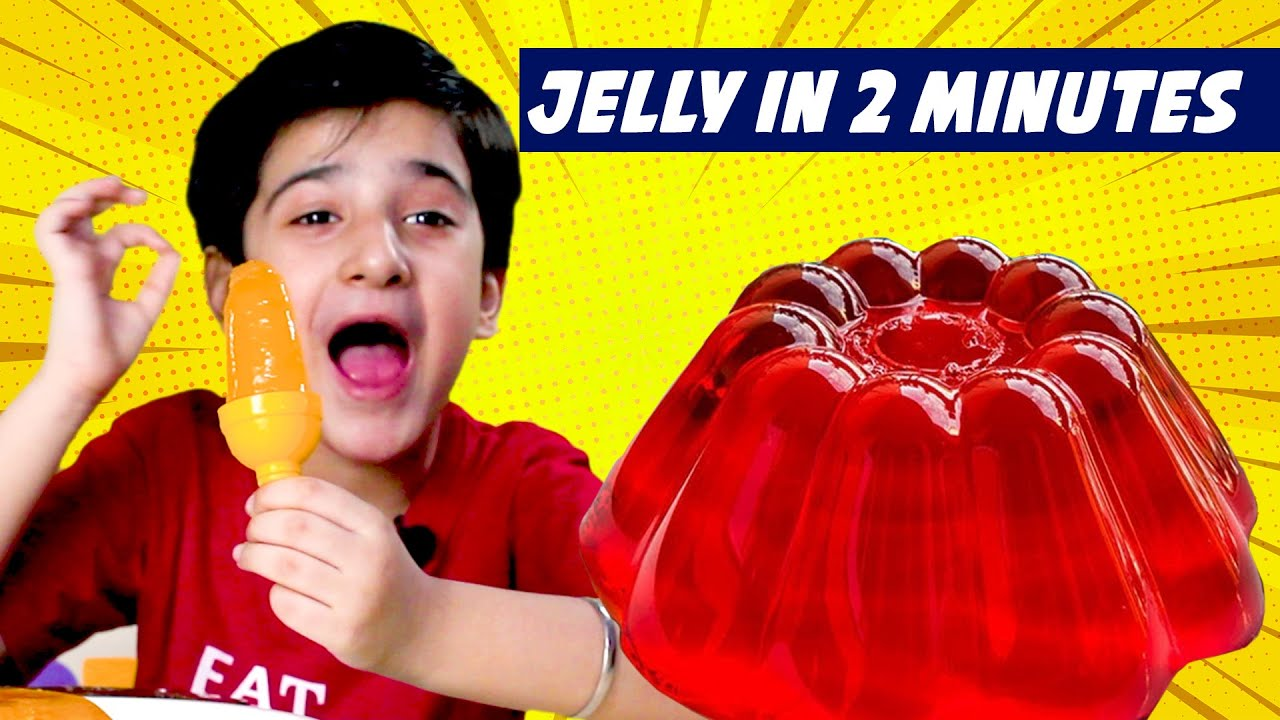 Smarth Kalra Making Jelly At Home | Very Easy Jelly Making Recipe | Jelly Ice Cream