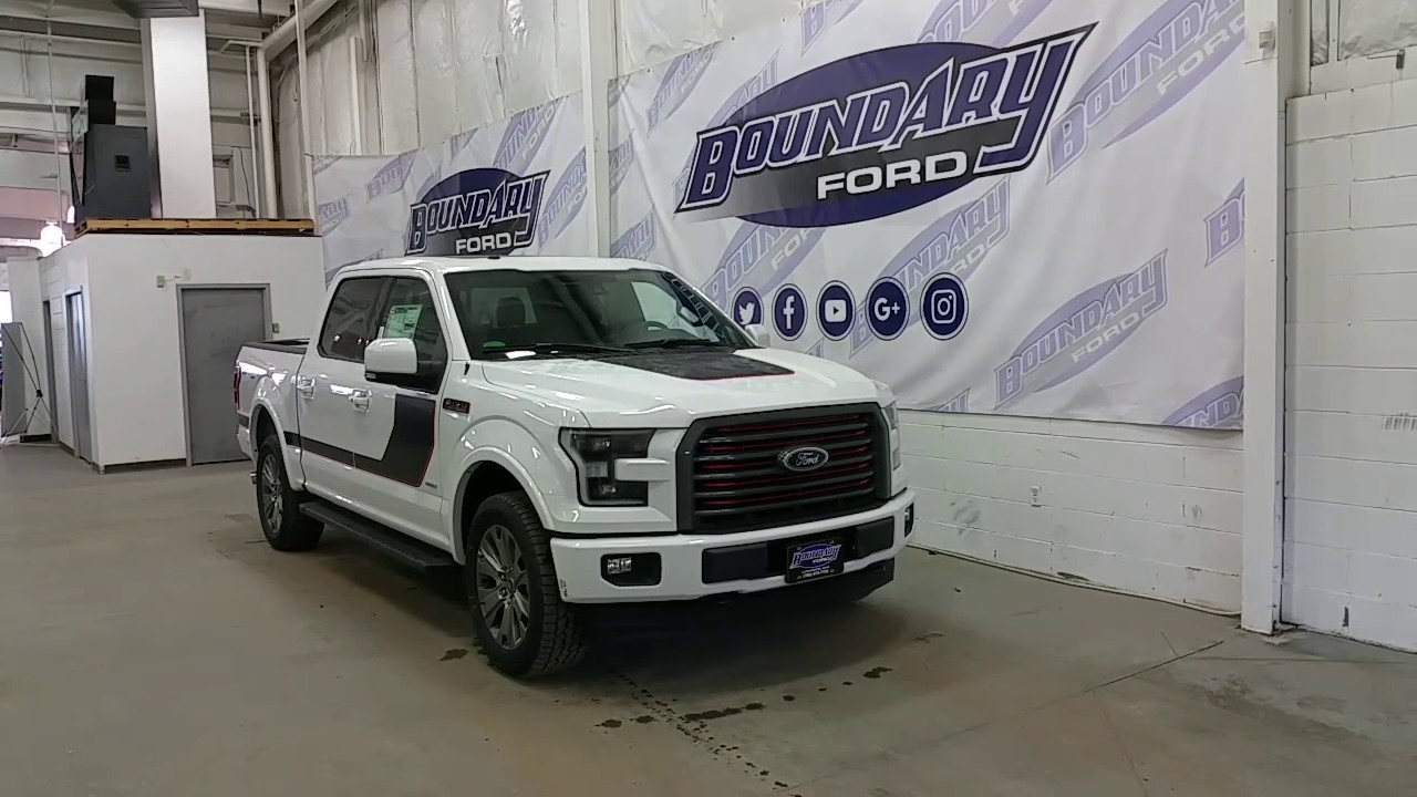 2017 ford f 150 lariat sport special edition w tailgate. Black Bedroom Furniture Sets. Home Design Ideas