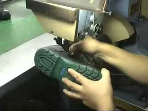 Maquina para coser zapato - YouTube b4607184192c