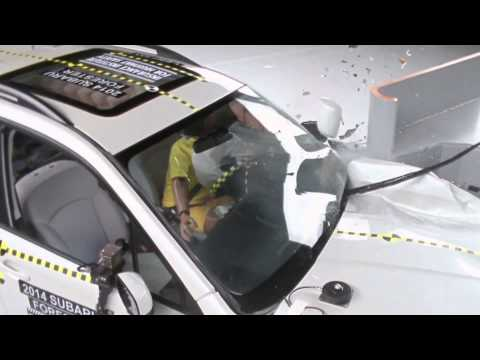CRASH TEST Small SUVs IIHS Small Overlap Test Results