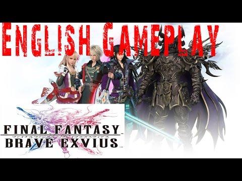 Final Fantasy Brave Exvius Gameplay Walkthrough Guide | Earth shrine | iOS Android Full HD ENGLISH