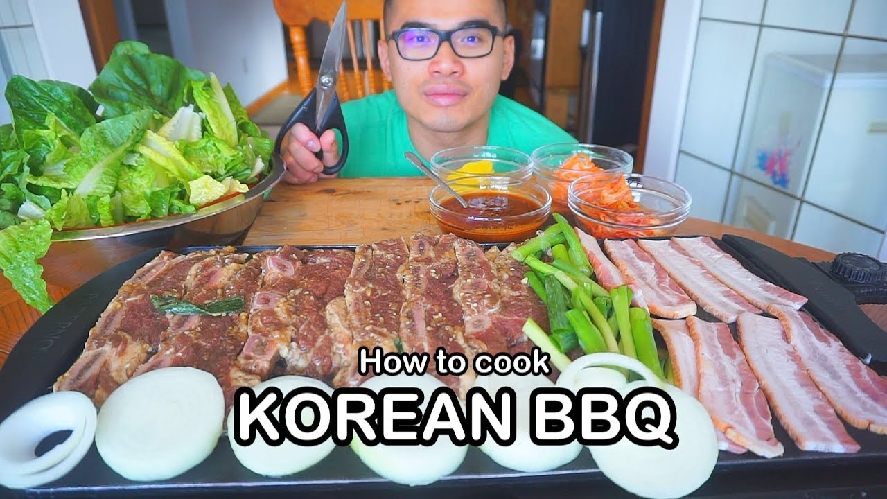 how to cook korean bbq