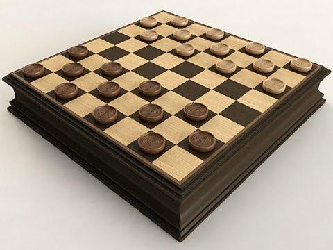 2 El Juego De Las Damas Reglas Dama Inglesa Checkers Youtube