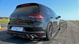 390HP Volkswagen Golf 7 R HPT with REMUS Exhaust!