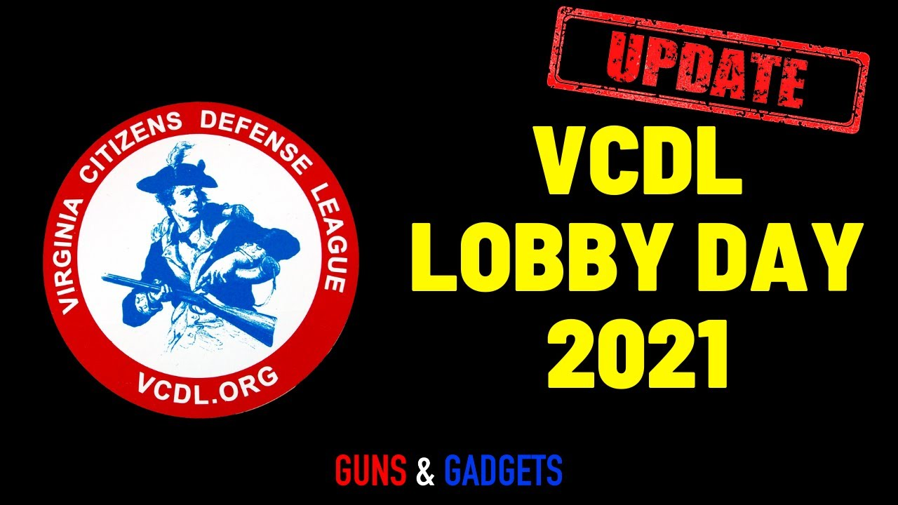 UPDATE: VCDL Lobby Day 2021