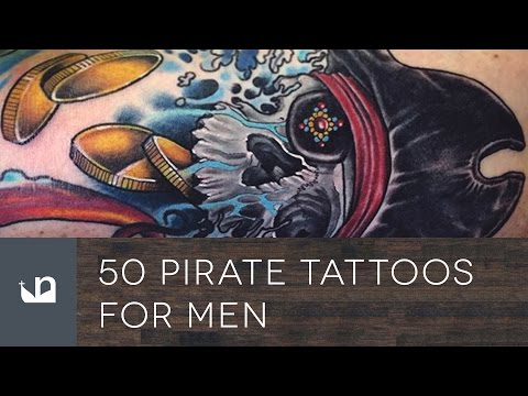 50 Pirate Tattoos For Men