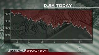CBS News Special Report: Dow Jones Tumbles