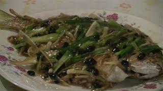 Steamed Fish Chinese Style  (black Bean Sauce)