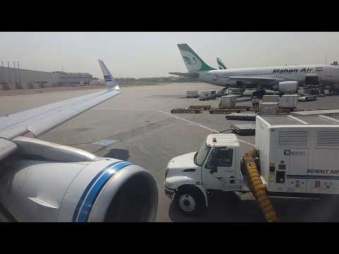 Kuwait Airways Airbus A320-200 Kuwait to Dubai *Full Flight*
