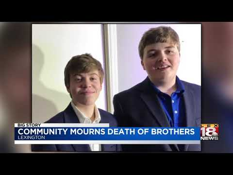 Community Mourns Death Of Brothers