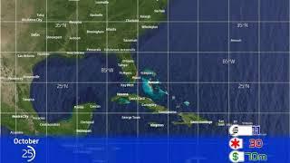 1984 Atlantic Hurricane Season Animation v.2