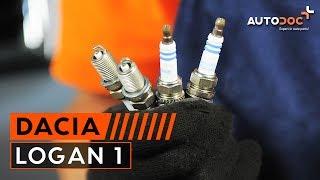 Ako vymeniť Zapalovacia sviečka DACIA LOGAN (LS_) - online zadarmo video