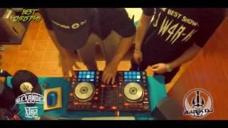BEST CHRISTMAS REMIX (DJ W4R-K FT ALEX STAR) JUNGLE TERROR