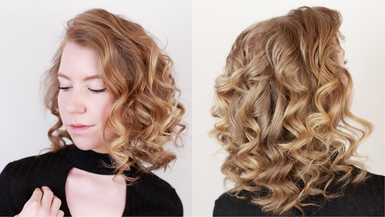 Curls For Thin Hair Youtube