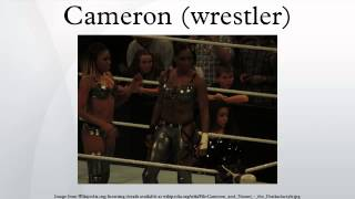 Cameron (wrestler)