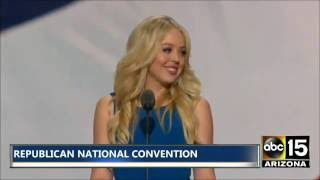 FULL SPEECH: Daughter Tiffany Trump - Republican National Convention