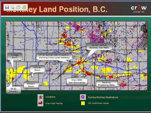 Crew/Canada Energy Montney Lands