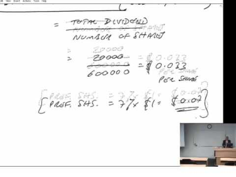 ACCA F9 Capital Structure and Financial Ratios Financial Gearing  (part b)