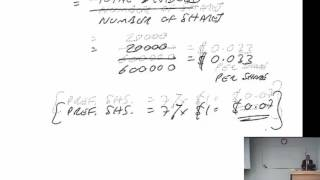 acca f9 capital structure and financial ratios financial gearing part b