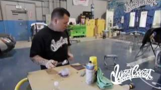 West Coast Customs - Remove Anodization
