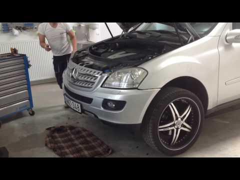 """Mercedes ML 320 Ledesítés  """"Hajdar Fénytechnika"""""""