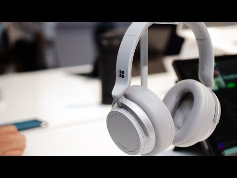 microsoft-surface-headphones-hands-on:-noise-cancelling-and-cortana
