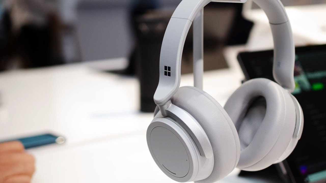 5d2d3bbc686 Microsoft Surface Headphones hands-on: noise-cancelling and Cortana ...