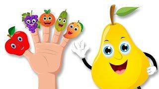 Frutas dedo de la familia Rima   Dedo de la familia rimas en...