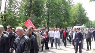 День Победы - шествие