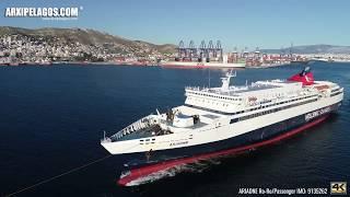 ARIADNE Ro-Ro/Passenger IMO: 9135262 ( AERIAL DRONE VIDEO )