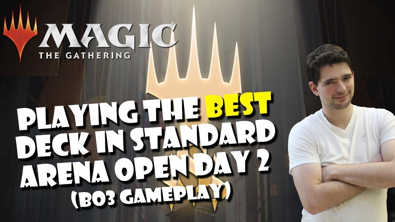 Download MTG - PLAYING THE BEST DECK IN STANDARD (ARENA OPEN DAY 2 GAMEPLAY) - MAGIC: THE GATHERING
