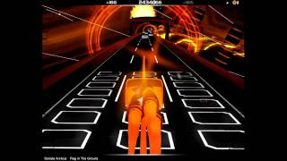 Audiosurf: Sonata Arctica - Flag in the ground (HD)