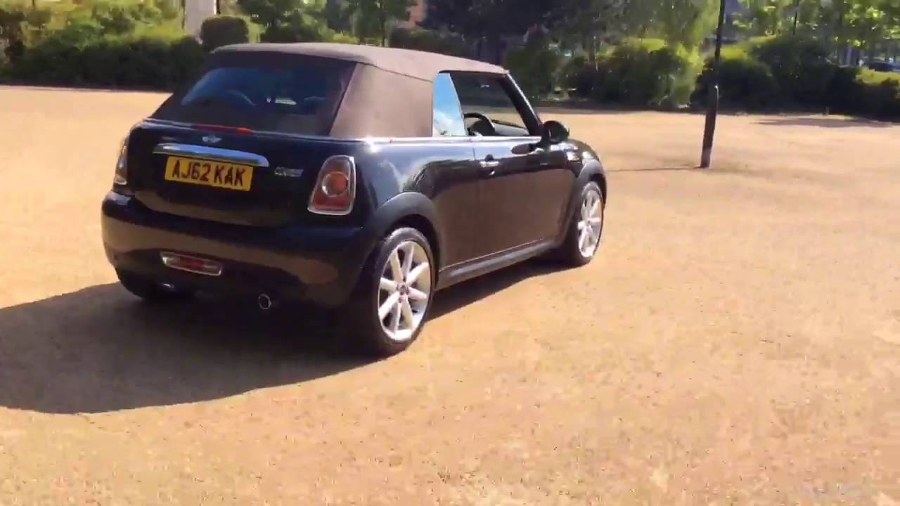 Mini Convertible Cooper Highgate Brown 2012 Youtube