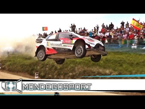 WRC RALLY DE PORTUGAL 2017 HIGHLIGHTS AMAZING SHOW, FLATOUT, JUMPS FULL HD PURE SOUND
