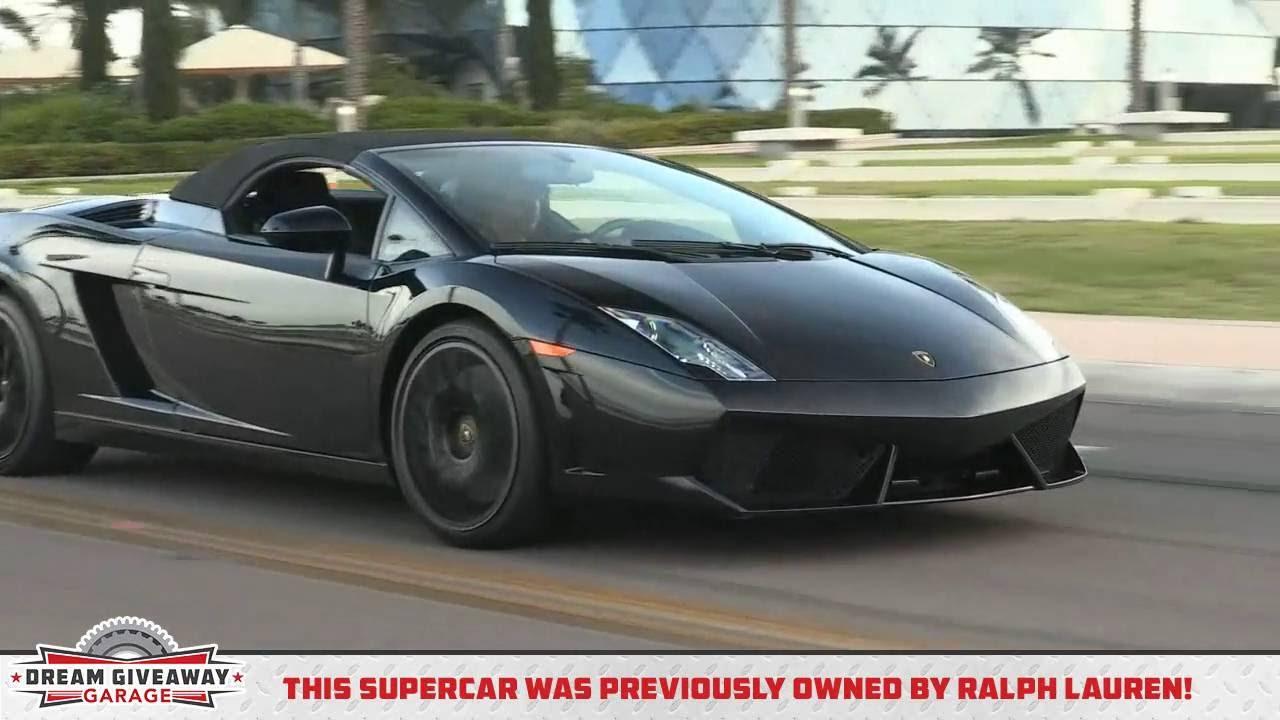 2016 Supercar Dream Giveaway Lamborghini On The St Pete Grand Prix