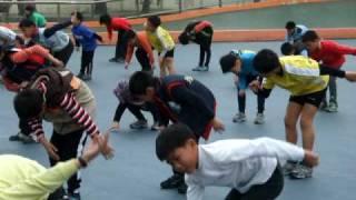 直排輪寒訓(地板操-3)