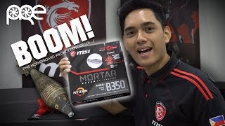 MSI B350M Mortar Motherboard - Unboxing and Overview