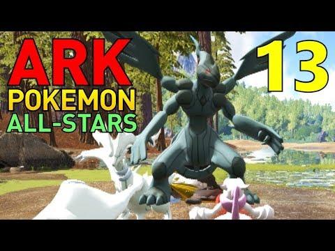 [13] Reshiram, Zekrom, Crustle, and Bisharp! (ARK Pokemon All-Stars Multiplayer)