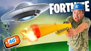 Nos Invaden los ALIENS en Fortnite Battle Royale en DIRECTO